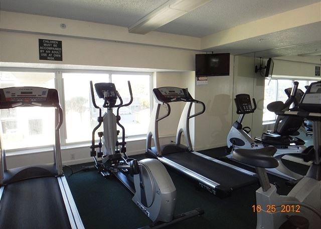 One of the great amenities waiting for you at Windy Hill Dunes is the fitness room