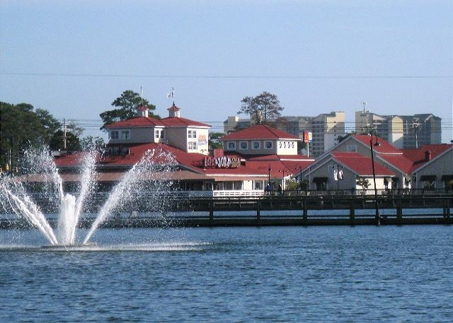 Barefoot Landing shopping, restaurants and entertainment just 1 mile away