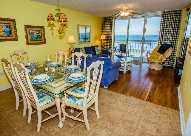 Great blue Atlantic views from every angle in this condo.