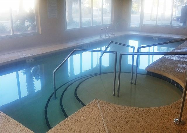 Another great amenity awaits you at the Crescent Shores indoor heated pool