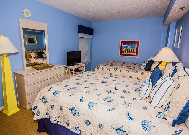 Roomy enough for a whole family and bed linens included during your stay.