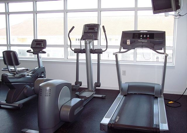 For those that must work out even on vacation, the fitness center is located off of the 1st floor.