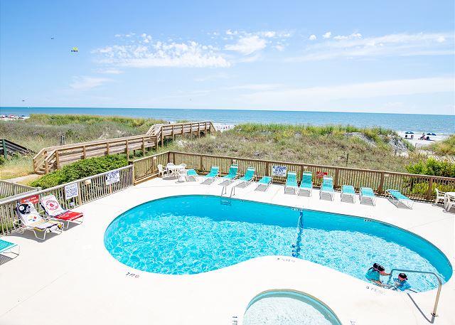 Oceanfront outdoor pool