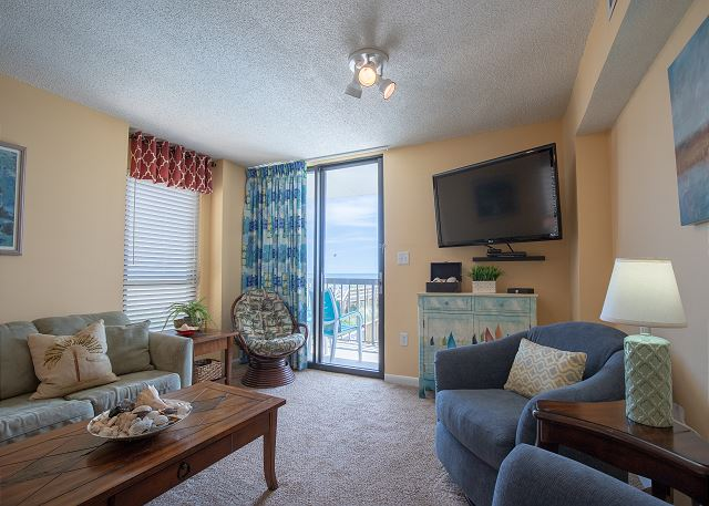 The condo is a desirable END unit on the 2nd floor, which means more space, more light, more views!