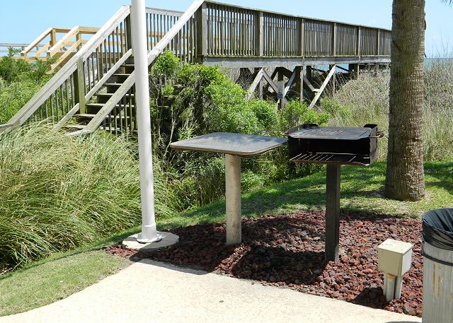Grilling station -- pick up some fresh seafood at the local market and plan an outdoor feast!