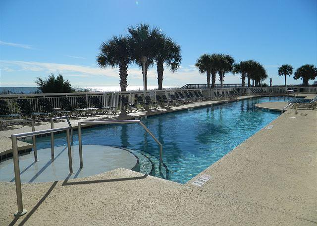 Resort style amenities make Crescent Shores a dream destination.