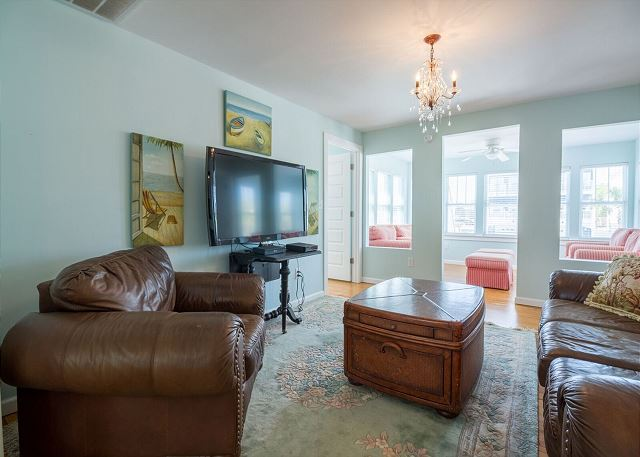 Family gathering room upstairs.  Enjoy a game night or movie night together.