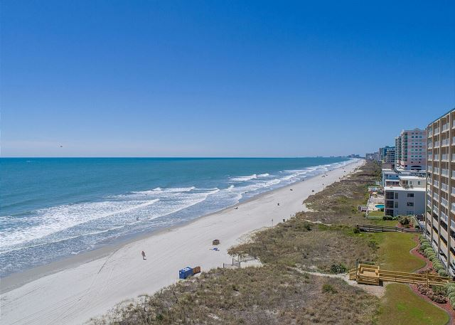 Miles and miles an beautiful SC coastline just steps from the front door at Sea Grass