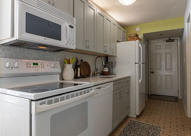 Everything from updated cabinets, to countertops and even the ki