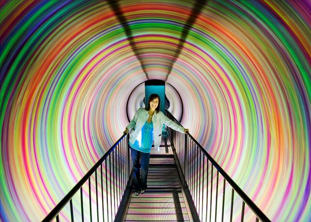 """A day of fun awaits you at the """"Tunnel at Wonder Works"""" in Myrtle Beach."""
