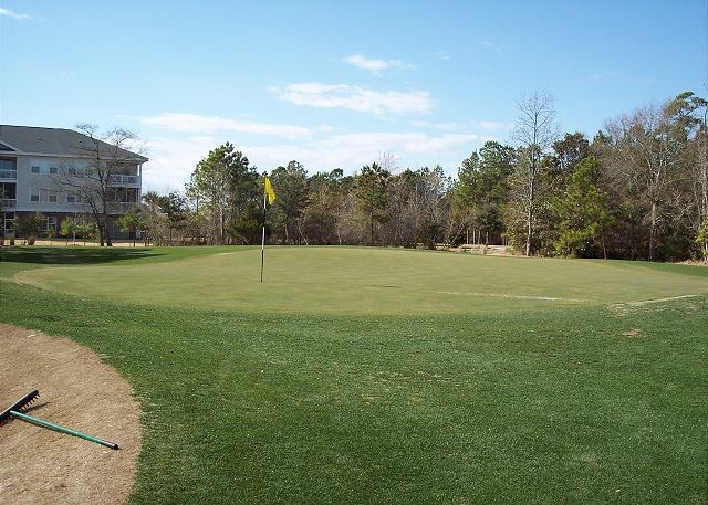 Enjoy one or all of the four great golf courses at BareFoot Landing Resort and Golf.