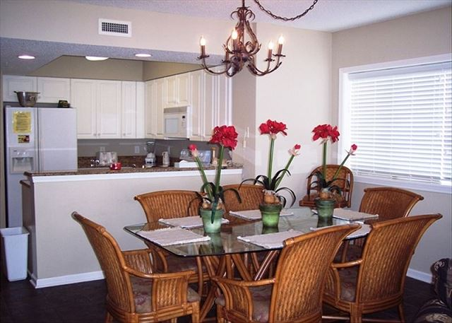 Great end unit condo so dining and living space have an extra window overlooking Intracoastal waterway