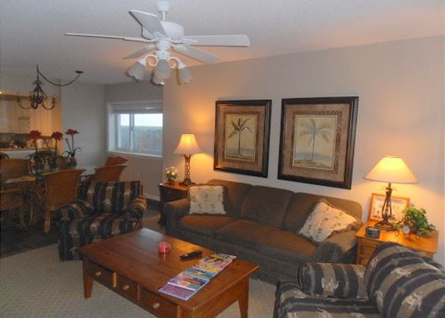 Great family space and a queen sleeper sofa if you need the extra space.