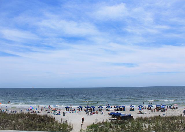 This view could be yours!  Call early to get the exact week you want to reserve.