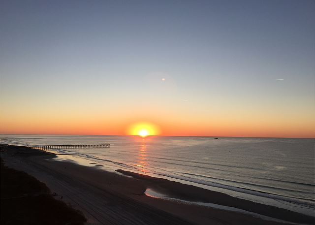 Plan to be WOWED by the sunrise from Sunrise Pointe.  Try to get up early at least once for this view.