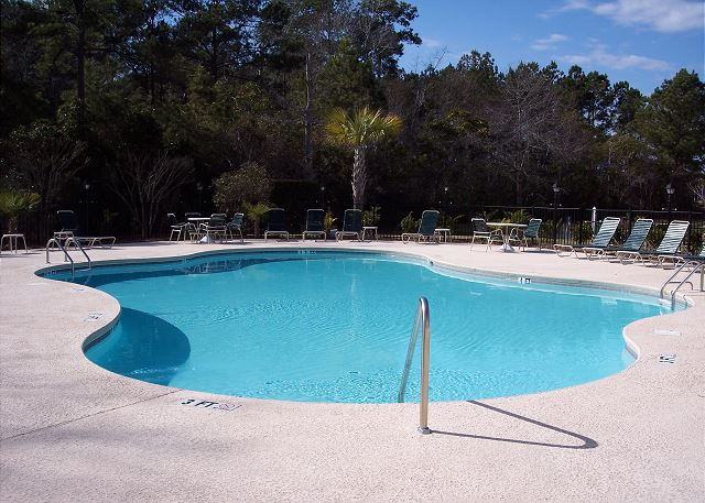Willow bed Pool, just steps away from your door.
