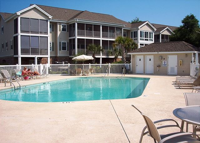 There are six community pools in the Ocean Keyes community.