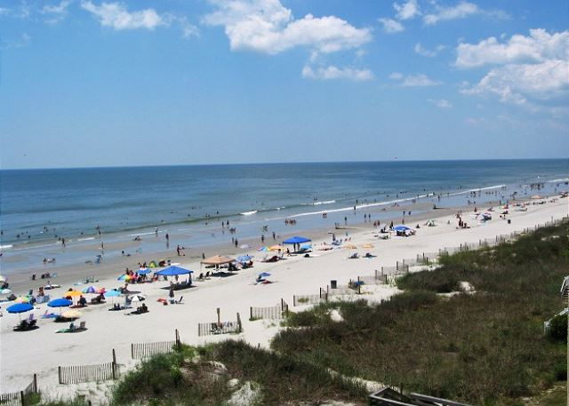 Best location in downtown North Myrtle Beach --  just 2 blocks to the beach or Main Street.
