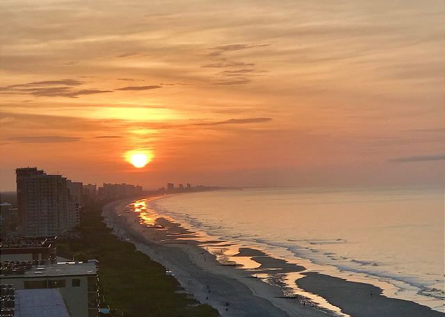 Photo contest winner!!!  You may want to wake early for a chance to see the sunrises!!!