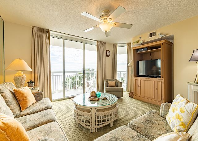 Crescent Shores #204 North Oceanfont Balcony
