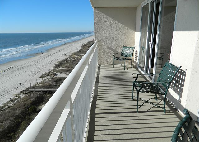 WOW views from your large private balcony with plenty of seating