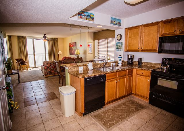 Well appointed kitchen for serving simple breakfasts or hosting family meals