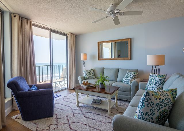 Beach Club at Windy Hill #5-F Beautiful Oceanfront Condo