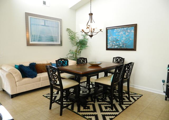 Dining seating for six