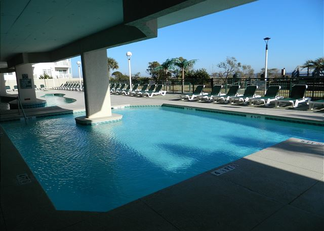View of pool and lazy river