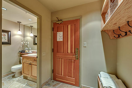 Shared Bathroom and Entrance