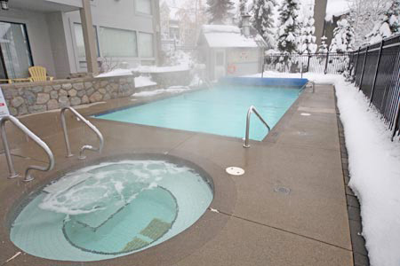 Heated Outdoor Pool and Hot Tub