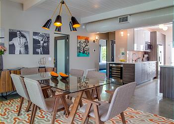 Midcentury-Inspired Interiors Professionally Designed by the Award-Winning Team at H3K