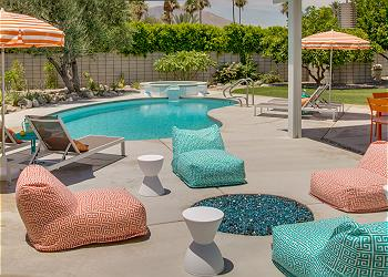Very Private Yard with Plenty of Comfortable Poolside Seating