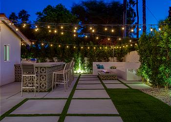 Lemon Twist in Palm Springs - Great Outdoor Living Pavilion