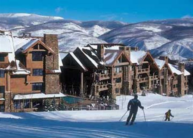 Bear Paw lodge is located directly on the slopes!