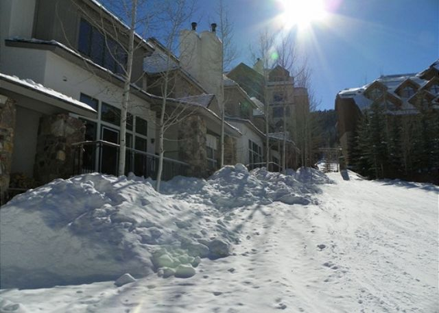 Experience the convience of a true ski-in, ski-out property! Your back door opens directly onto the ski slope.