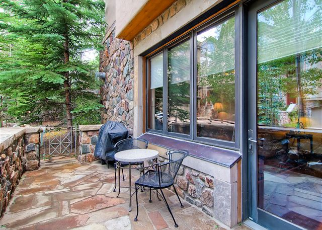 Relax on your private patio