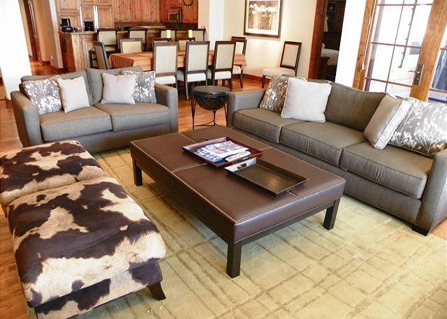 Modern, inviting decor