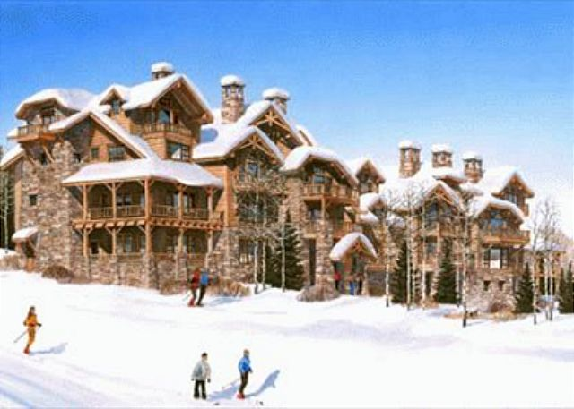 Winter guests will enjoy direct ski room to slope access