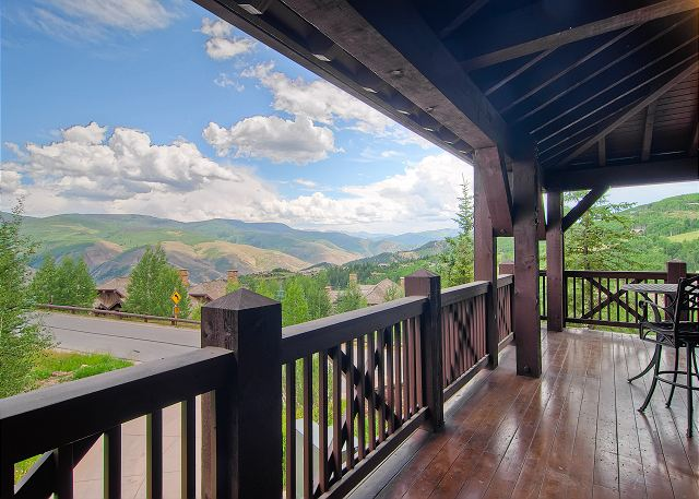 Stunning views from the Deck