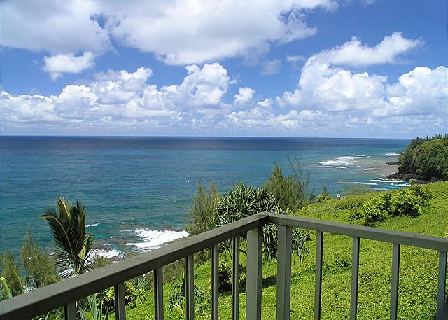 Fantastic ocean view balcony at Alii Kai 3103!