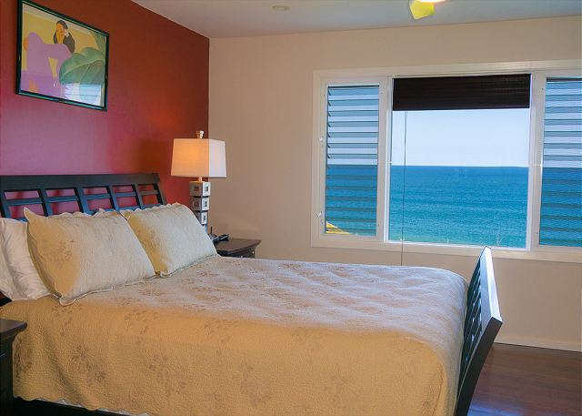 enjoy the view without getting out of bed!
