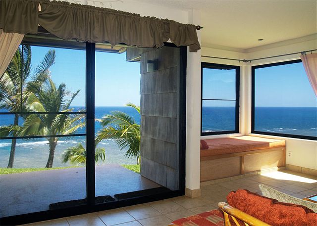 Oceanfront views from every window!
