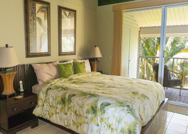 Master bedroom with 2nd private lanai