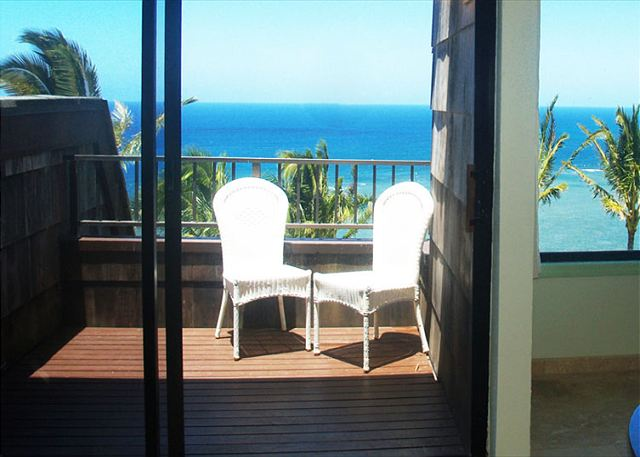 Amazing views from your private lanai