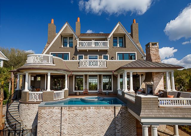 Oceanfront Vacation Homes In South Carolina luxurious oceanfront