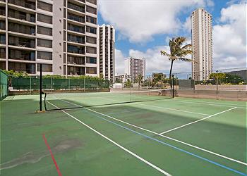 The Banyan Tennis Court