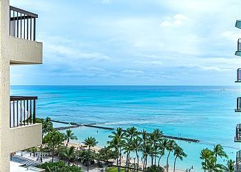 ワイキキ・ビーチ・タワー (Waikiki Beach Tower) #1204