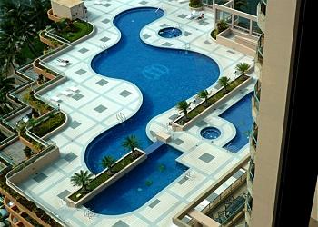 Resort Style Pool Deck