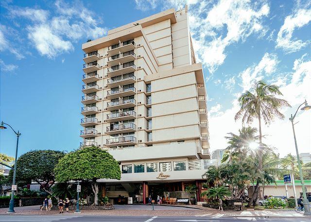 Luana Waikiki Hotel Ocean 1 Bdr Suite